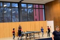 Einspielen gegen Hockenheim