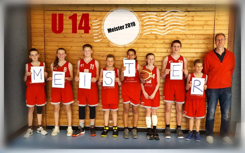 Basketball U14 mix erkämpft die Meisterschaft in der Bezirksliga