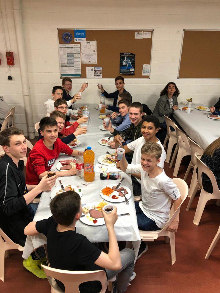 15 Jahre Jugendaustausch zwischen der Basketball-Abteilung und Vichy – Bellerive Basket