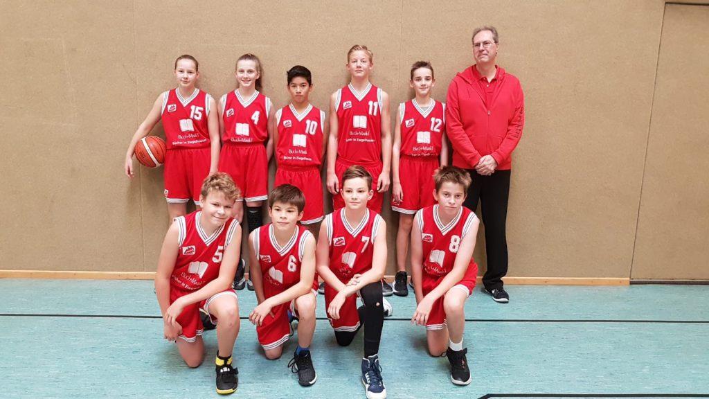 Basketball U14 mix - starkes Spiel gegen Viernheim/Weinheim
