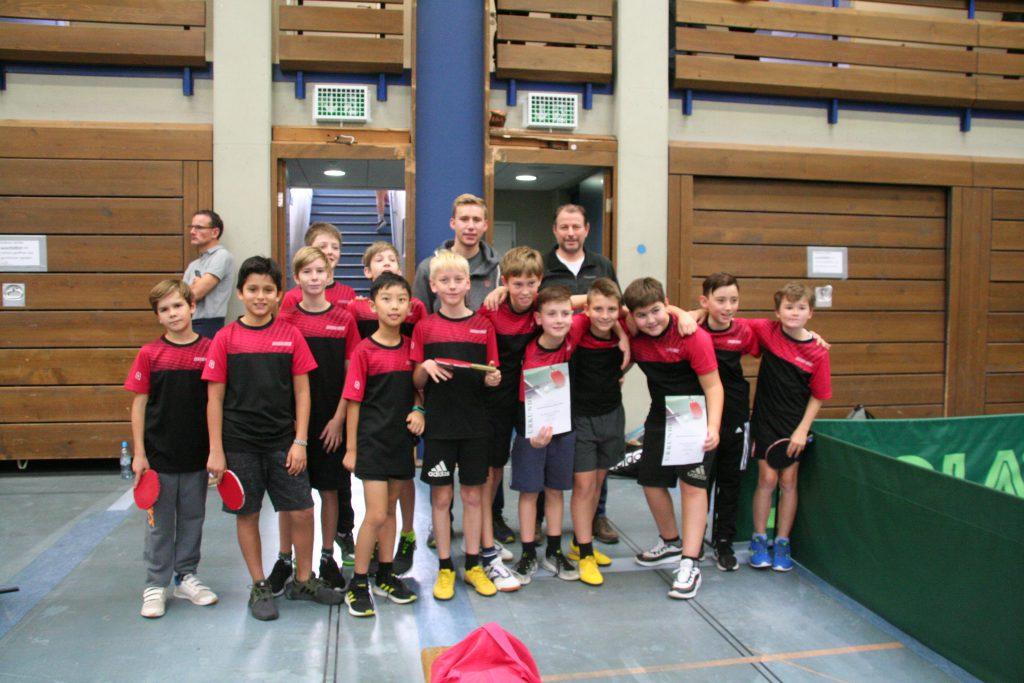 Tischtennisjugend: Zweiter Platz im Doppel bei den Bezirksmeisterschaften