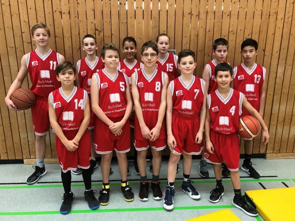 Basketball - U 14 mix – Souveräner Sieg gegen Eppelheim…!