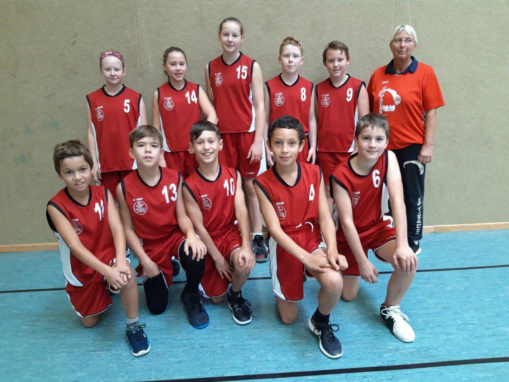 Basketball U12: Spannendes Spiel mit Abschlussknüller
