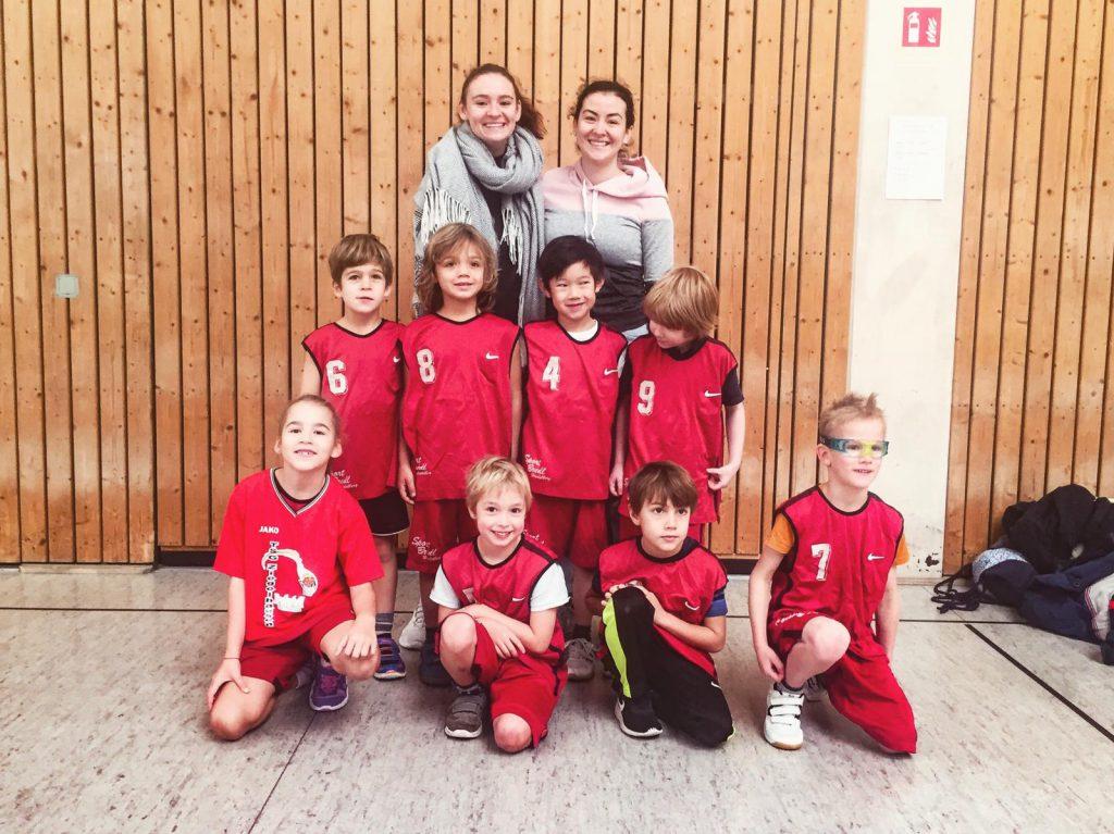 Basketball: Nun ging es auch für die kleinsten Wilden aus dem Neckartal endlich los….
