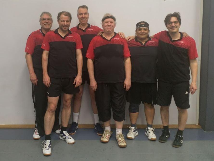 Tischtennis: Zweite Herrenmannschaft verteidigt die Tabellenführung im Spitzenspiel gegen Nußloch