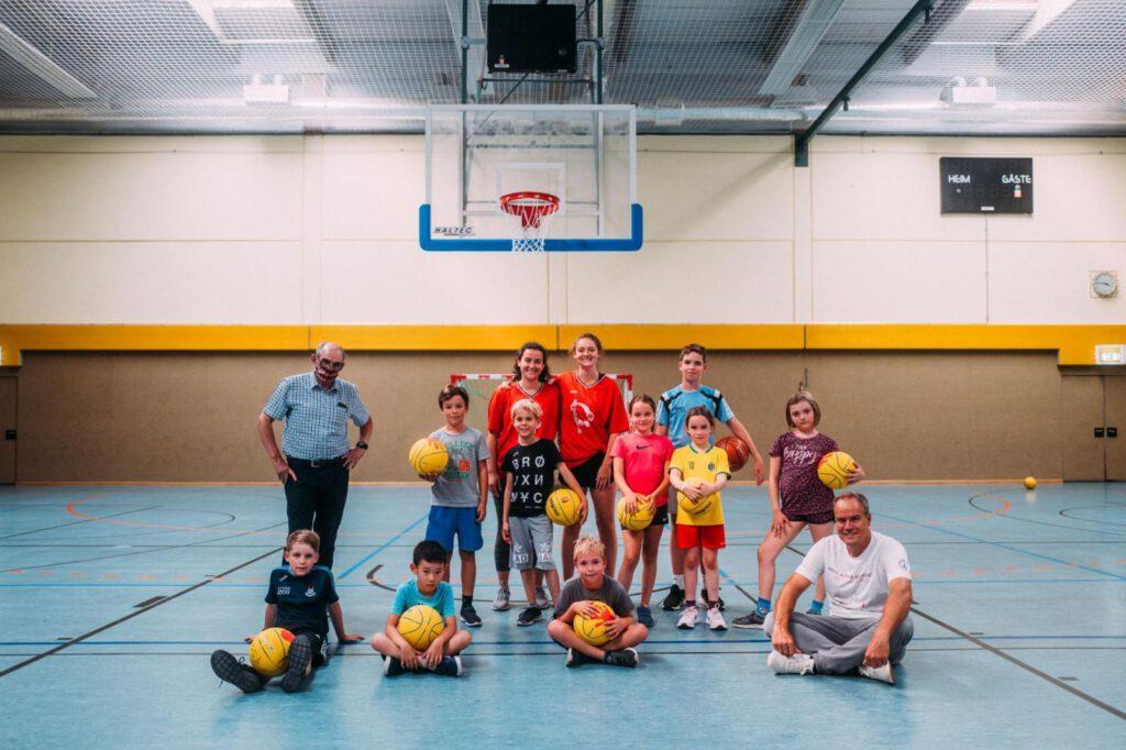 Basketball - Hoher Besuch beim Ferienpassprogramm