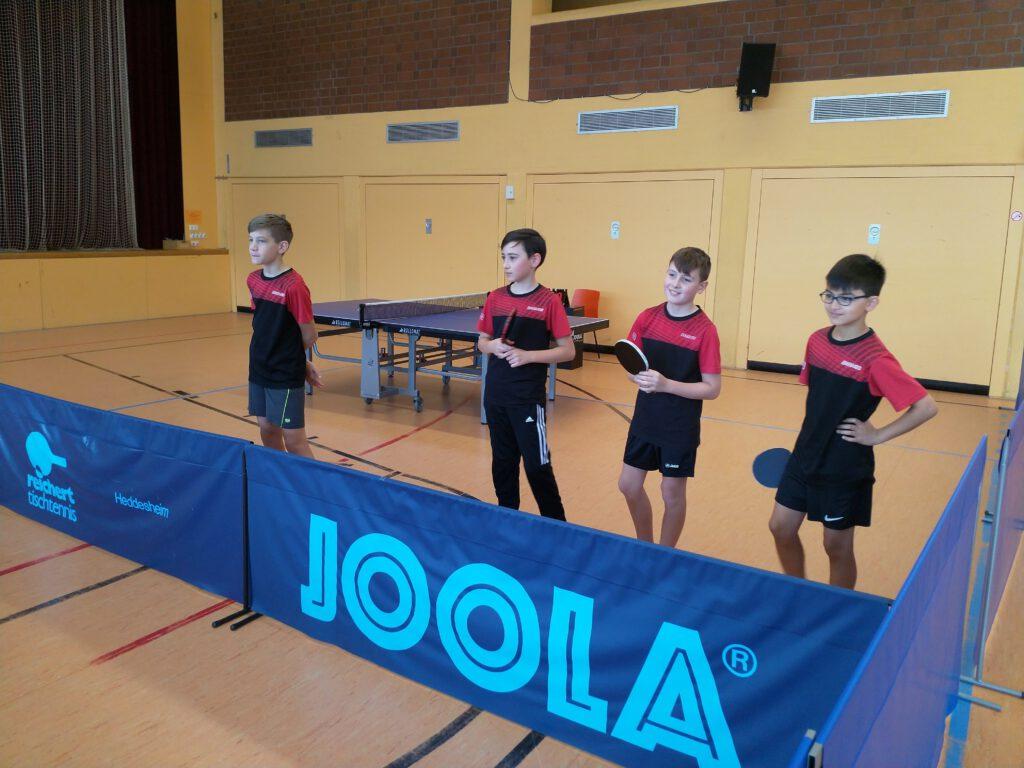 Gemischte Woche im Tischtennis - Kantersieg der U13 in Mühlhausen