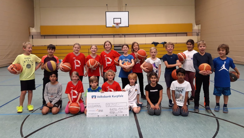Basketball - Jugend - Anerkennungspreis der Volksbank Kurpfalz