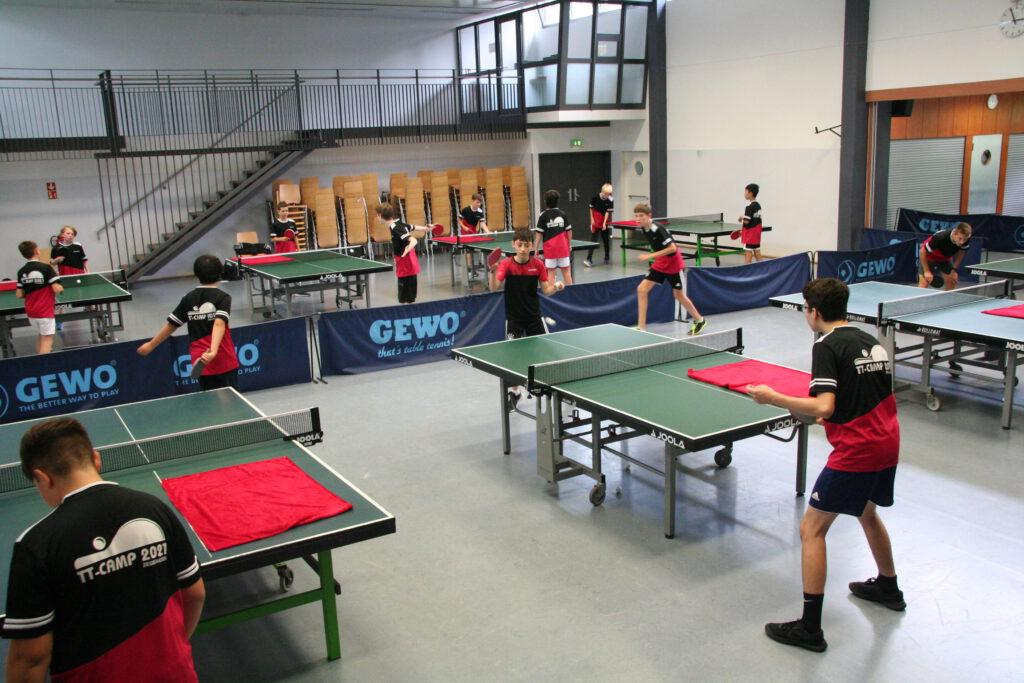 Tischtennisjugend: Das Feriencamp war ein voller Erfolg!