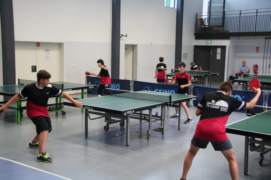 Tischtennis - Jugendtraining zusätzlich jetzt auch Dienstags
