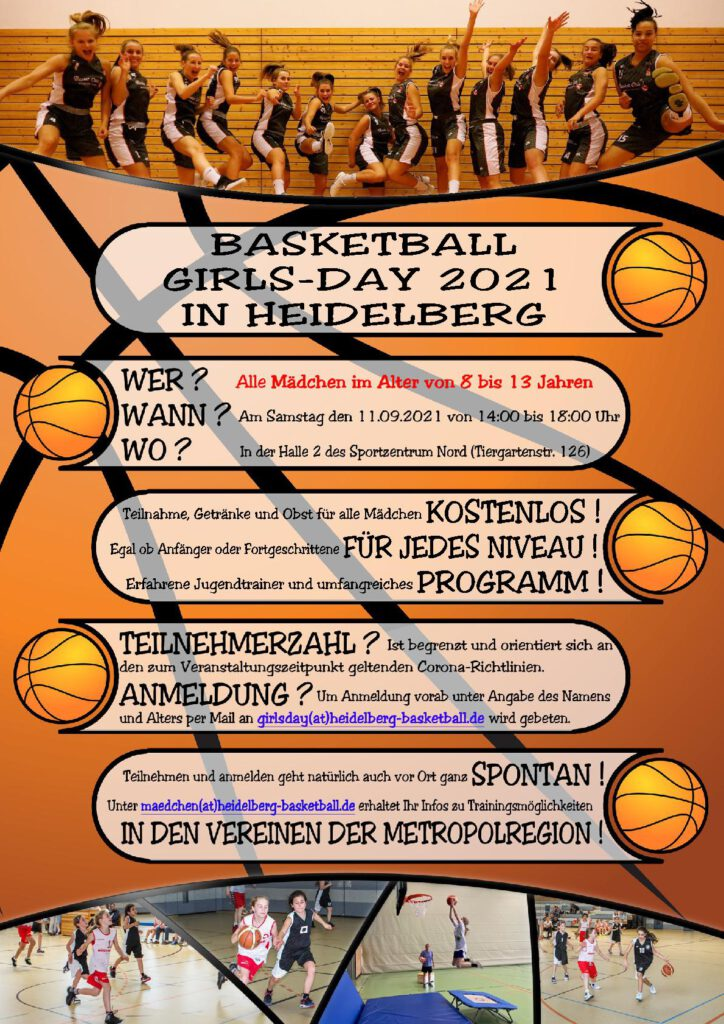 Basketball...Girls-Day 2021...!!!