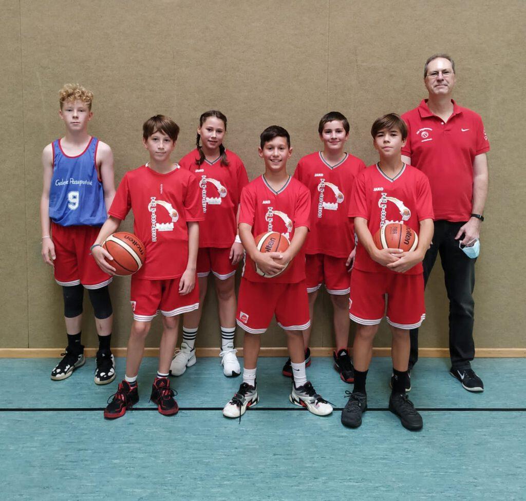 Basketball - U14 mix - 2. Spiel = 2. Erfolg…!